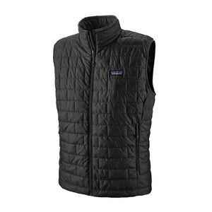 NEW Patagonia Nano Puff Vest Size M Black Men's